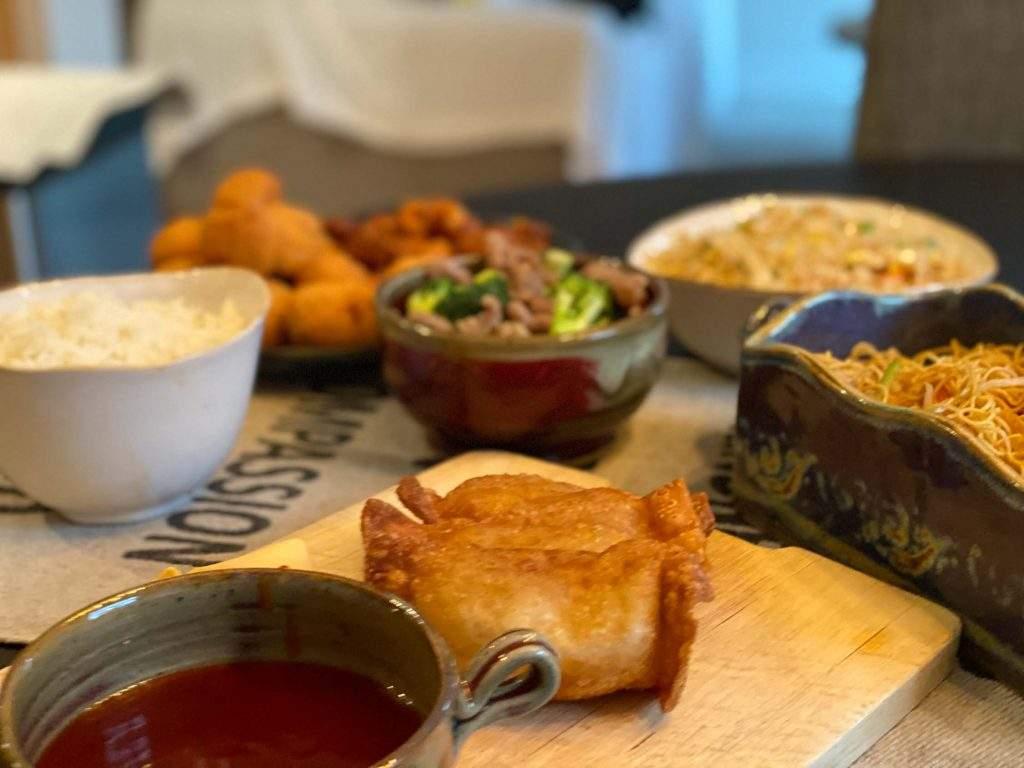 Appetizer Chicken & Rice - Jiayan Restaurant